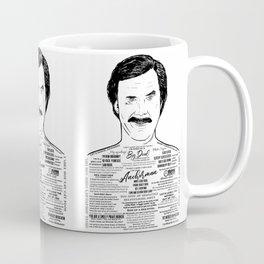 Anchorman's Ron Burgundy - 'Scotchy, Scotch, Scotch' Coffee Mug