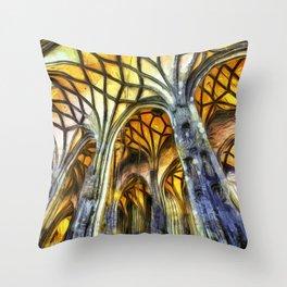 Vienna Cathedral Vincent Van Gogh Throw Pillow