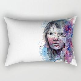 Flabellina by carographic, Carolyn Mielke Rectangular Pillow