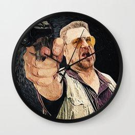 Walter Sobchak Wall Clock