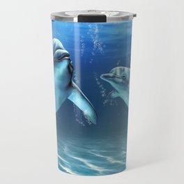 Dolphin Dream Travel Mug