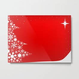 Red Christmas Metal Print