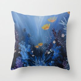 WHEN I THINK OF YOU Throw Pillow