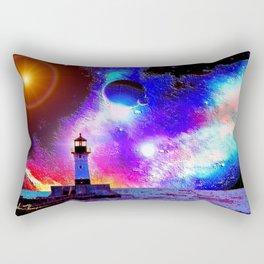 Lighthouse to the stars Rectangular Pillow