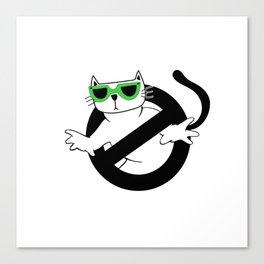 Cat Thug Buster | Digital Art Canvas Print