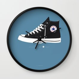 Chuck Taylor famous shoes Wall Clock