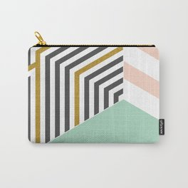 Mint&Gold Room #society6 #decor #buyart Carry-All Pouch