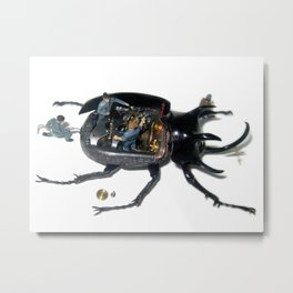 Micromachina – Human Infestation Metal Print