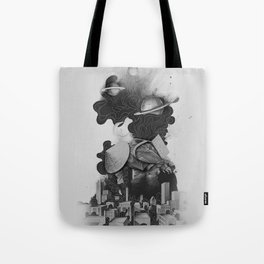 The Night Gatherer Tote Bag