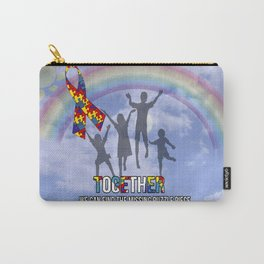 Autism,Together we can find the missing puzzle piece, Carry-All Pouch