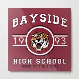 Bayside Tigers Metal Print
