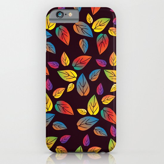 colors of leaves 1 iPhone & iPod Case