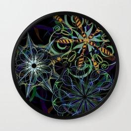 Pinwheels Wall Clock