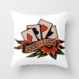 Good-Luck Throw Pillow