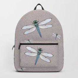 Blue dragonfly Backpack