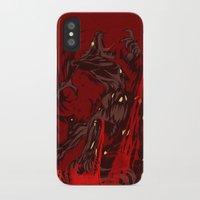 werewolf iPhone & iPod Cases featuring Werewolf by Kivapo