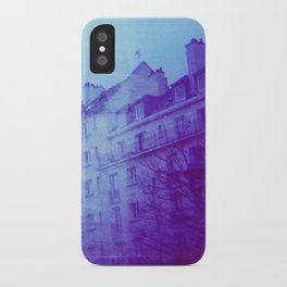 Chateau & Flowers iPhone Case