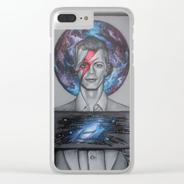 Into The Oddity Of Space Clear iPhone Case