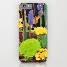 Tom Thomson - Water Flowers - Digital Remastered Edition iPhone Case
