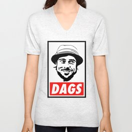 The Snatch Micky DAGS Unisex V-Neck