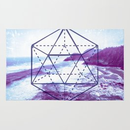 The Elements Geometric Nature Element of Water Rug