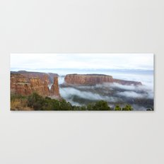 Cloud Flow Canvas Print