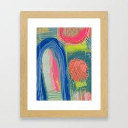 Abstract Shelter Framed Art Print