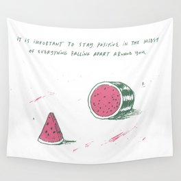 Watermelon Optimism Wall Tapestry