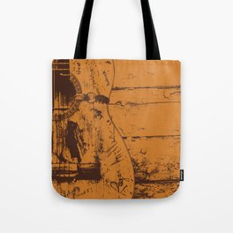 Trigger - Acoustic Guitar - Willie Nelson Tote Bag