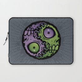 Zombie Yin-Yang Laptop Sleeve
