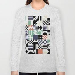 RAND PATTERNS #25: Procedural Art Long Sleeve T-shirt