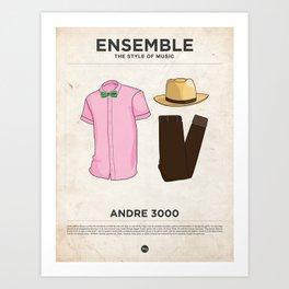 Ensemble - Andre 3000 Art Print