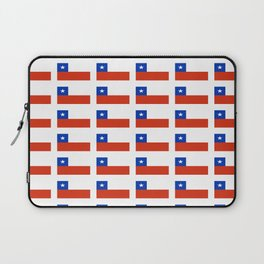 Flag of Chile 3-Spanish,Chile,chilean,chileno,chilena,Santiago,Valparaiso,Andes,Neruda. Laptop Sleeve