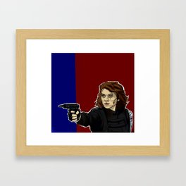 Who the hell is Peggy? Framed Art Print