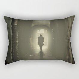 Narrow Passage Rectangular Pillow