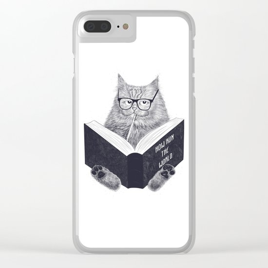 How run the world Clear iPhone Case