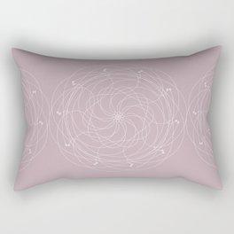 Ornament – Merry Go Round Flower Rectangular Pillow