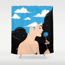 Scent Of Blue Shower Curtain