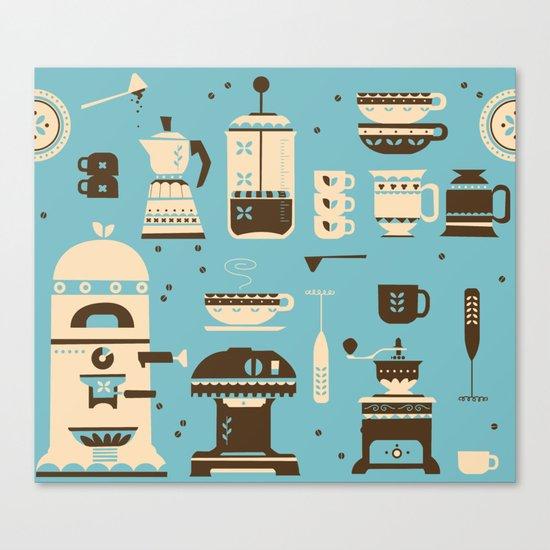 Coffee Paraphernalia   Canvas Print