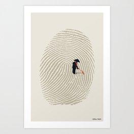 Zen Touch Art Print