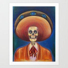 El Dead Charro Art Print