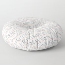 Knotted up Floor Pillow