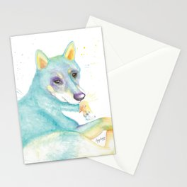 Dexter (The Shiba Inu) Stationery Cards
