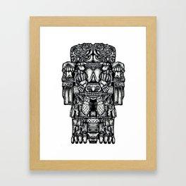 Coatlicue Framed Art Print