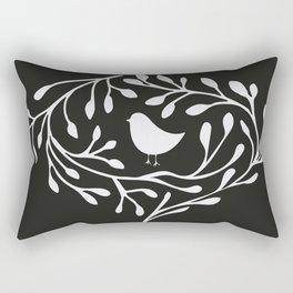 BRANCH BIRD Rectangular Pillow