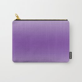 Pastel Violet to Violet Horizontal Bilinear Gradient Carry-All Pouch