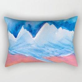 The Himalaya and The River Ganges Rectangular Pillow
