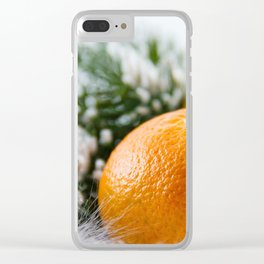 Christmas time #society6 #decor #buyart Clear iPhone Case