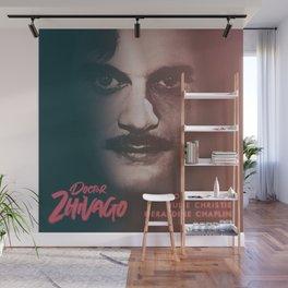 Doctor Zhivago, minimalist movie poster, David Lean film,Omar Sharif, Boris Pasternak, book cover Wall Mural