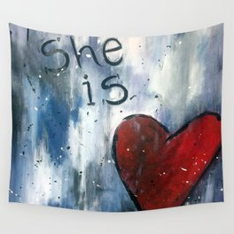 She is Love Wall Tapestry